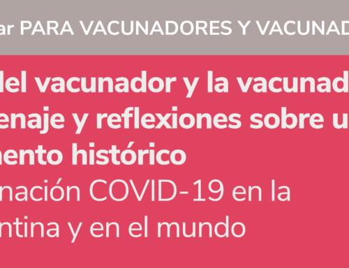 Desde la SAVE homenajeamos a vacunadores y vacunadoras en su día